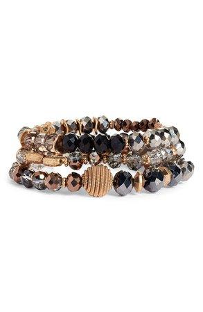 Canvas Jewelry Multistrand Beaded Bracelet | Nordstrom