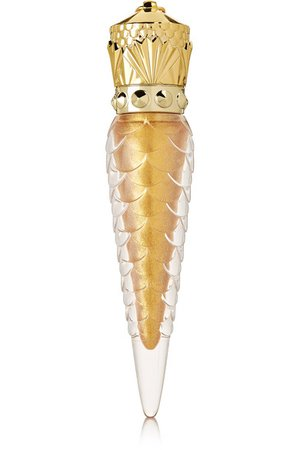 Christian Louboutin Beauty | Loubilaque Lip Lacquer - Goldomania | NET-A-PORTER.COM