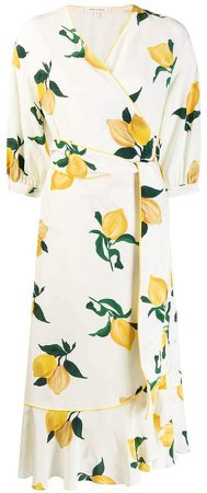 Chinti & lemon wrap dress