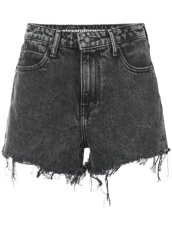 T By Alexander Wangfrayed denim shorts frayed denim shorts £333 - Fast Global Shipping, Free Returns