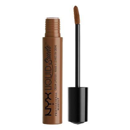 (True Nude) Liquid Suede Cream Lipstick   NYX Professional Makeup