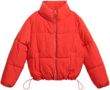 Padded Jacket - Red
