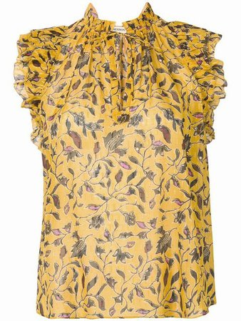 Ulla Johnson Shona floral tank top $405 - Buy SS19 Online - Fast Global Delivery, Price
