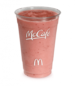 mcdonald's strawberry smoothie - Google Search