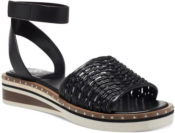 Minniah Ankle Strap Wedge Sandal