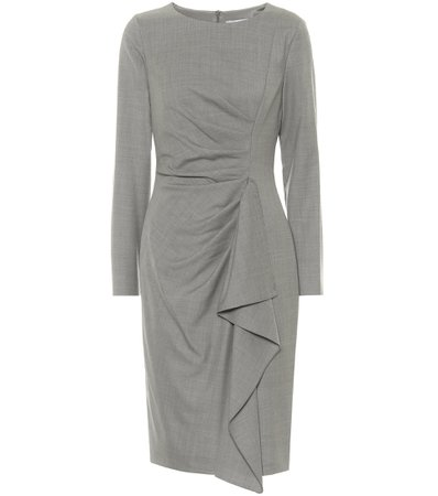 Max Mara, Sultano virgin-wool pencil dress