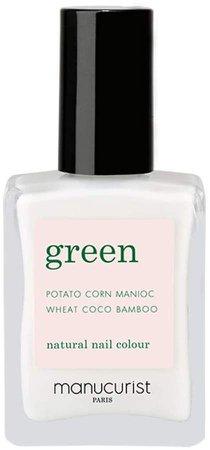 Green Nail Lacquer - Snow
