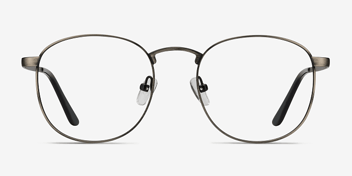 St Michel | Gunmetal Metal Eyeglasses