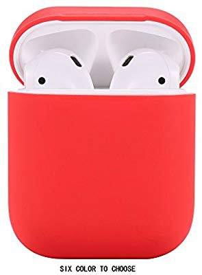 Amazon.com: Airpods Case/Airpods 2 Case,Teyomi Protective Silicone Cover Skin with Sport Strap for Apple Airpods Charging Case[Front LED Not Visible] (Red): Home Audio & Theater