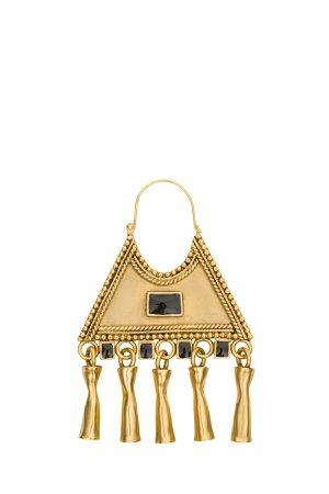 Saint Laurent Triangular Earrings