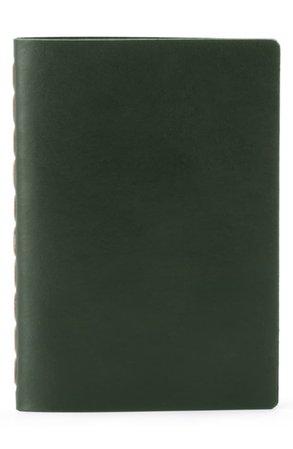 Ezra Arthur Small Leather Notebook | Nordstrom