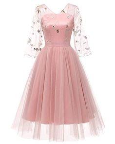 Women's Multi-Color Elegant Party Lace Dress