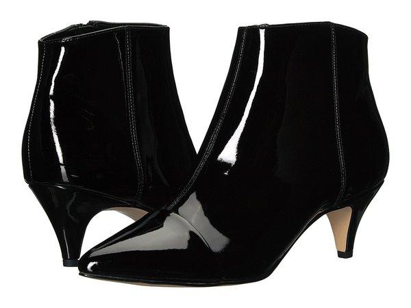 Sam Edelman - Kinzey 2 (Black Soft Cow Patent Leather) Women's Dress Zip Boots