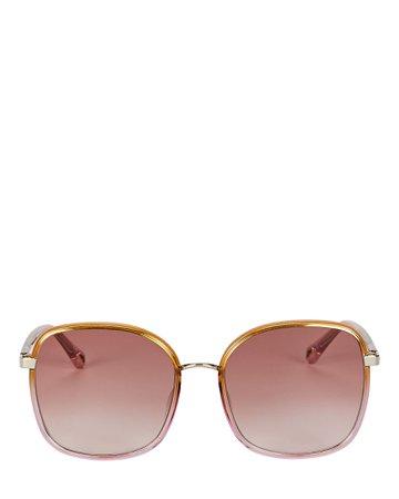 Chloé Oversized Square Sunglasses | INTERMIX®