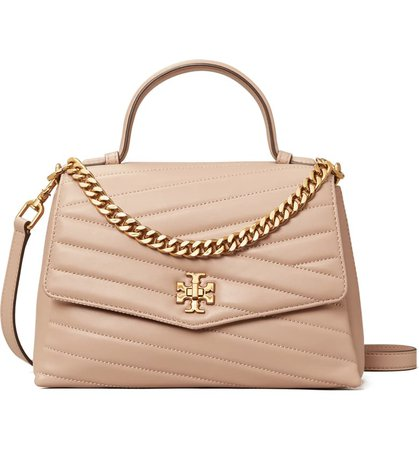 Tory Burch Kira Chevron Quilted Leather Top Handle Satchel | Nordstrom