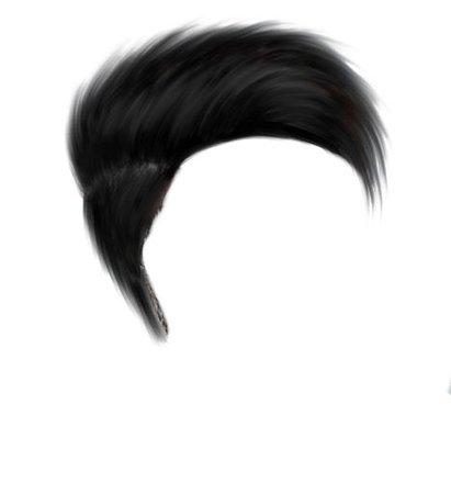 Short Black Hair 2