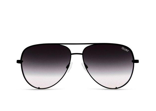 HIGH KEY Aviator Sunglasses | Quay Australia