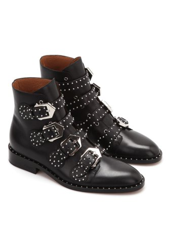 Givenchy   studded ankle boots