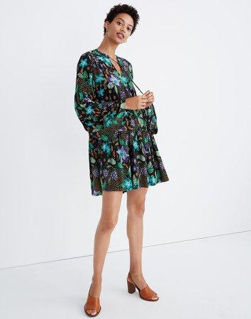 Warm Silk Garden Tiered Dress