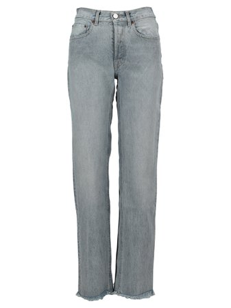Vetements Two Tone Bootcut Jeans
