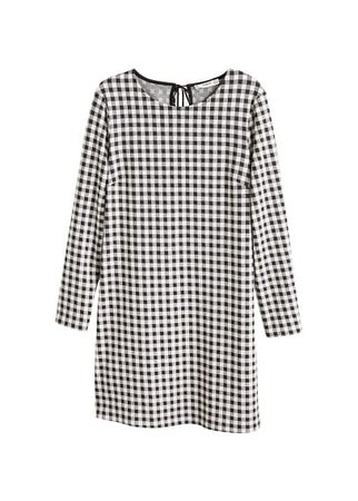 MANGO Vichy check dress