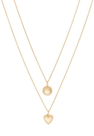 ONLY ONLRIVA GIFT CHAIN NECKLACE 2PACK - Necklace - gold-coloured - Zalando.co.uk