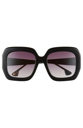 Alice + Olivia Lexington 55mm Square Sunglasses | Nordstrom