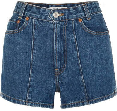 Re/done The Venice Denim Shorts - Mid denim