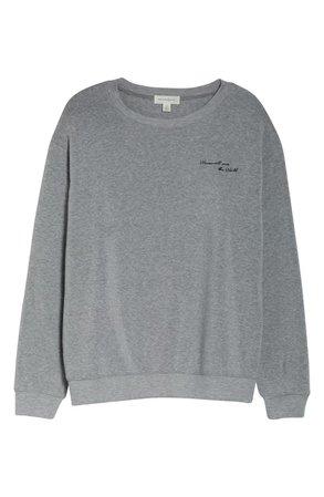 Treasure & Bond Women Will Save the World Sweatshirt (Plus Size) | Nordstrom