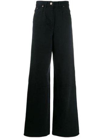 Jacquemus Wide Leg Jeans - Farfetch