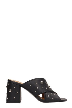 See by Chloé Black Leather Sandals