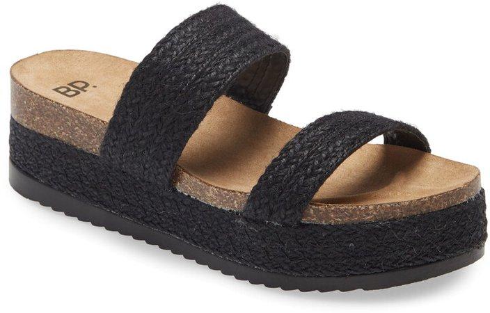 Tenley Flat Form Slide Sandal