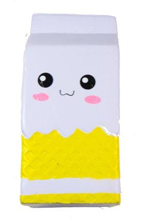 Jumbo Milk Carton Squishy - Yellow - Walmart.com