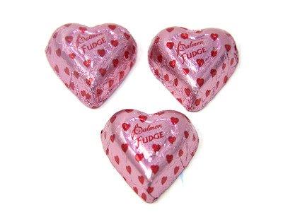 Fudge Hearts 24lb - Palmer - 701412