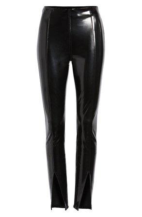 BLANKNYC Patent Faux Leather Leggings | Nordstrom