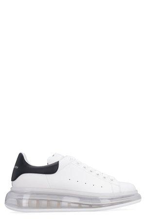 Alexander McQueen Larry Leather Low-top Sneakers