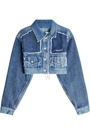 Cropped Denim Jacket Gr. IT 38