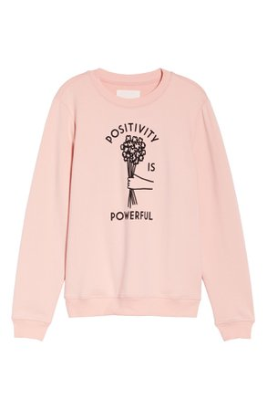 ban.do Positivity Sweatshirt | Nordstrom