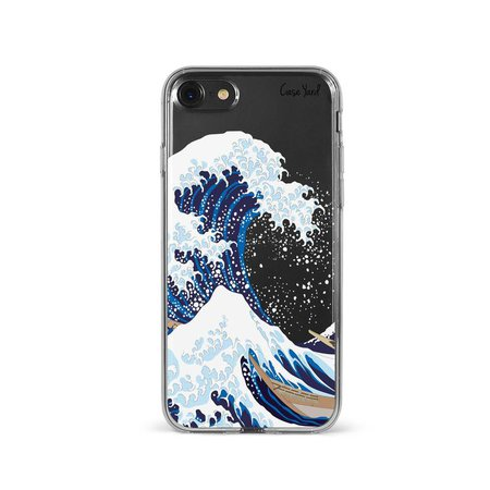 Great Wave off Kanagawa iPhone 11 Case Clear iPhone 8 Plus   Etsy
