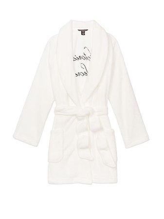 Logo Short Cozy Robe - Victoria's Secret - vs