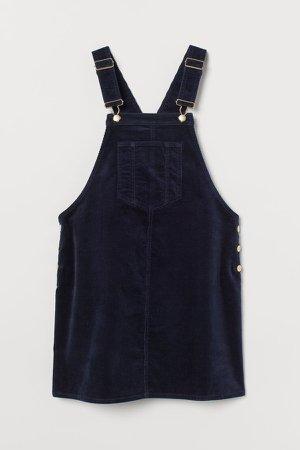 MAMA Overall Dress - Blue