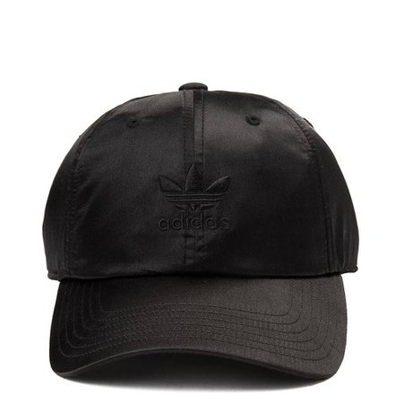 adidas Trefoil Satin Relaxed Dad Hat | Journeys