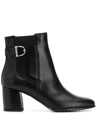 Tod's buckle-embellished Ankle Boots - Farfetch