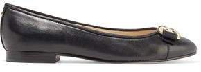 Mage Embellished Leather Ballet Flats