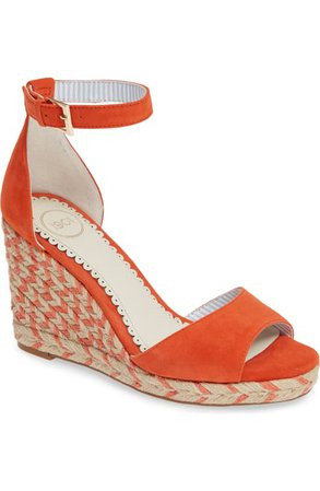 1901 Nadine Espadrille Wedge Ankle Strap Sandal (Women)   Nordstrom