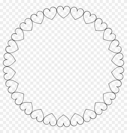 Heart Circle Frame 3
