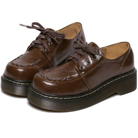 Thick-Soled Flats