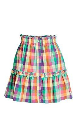 Playa Lucila Plaid Skirt | SHOPBOP
