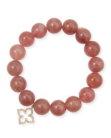 Sydney Evan 14k Muscovite & Moroccan Star Bracelet