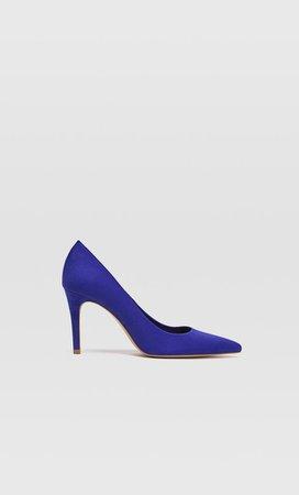 Blue stiletto heel shoes - Heel shoes | Stradivarius United Kingdom